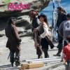 Penélope Cruz embarazada   fotos rodaje Piratas Caribe 4