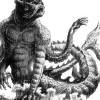 Furia de titanes, exposición de ilustraciones