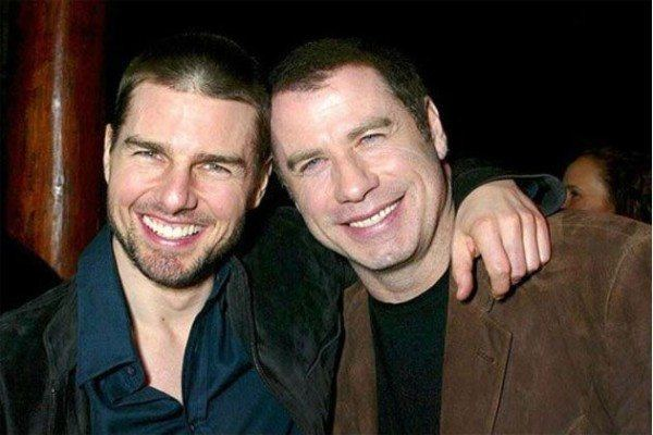 john travolta y tom cruise