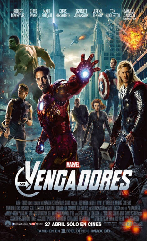 Marvel los vengadores - The Avengers