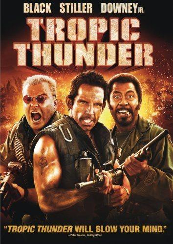 tropic thunder pelicula risa