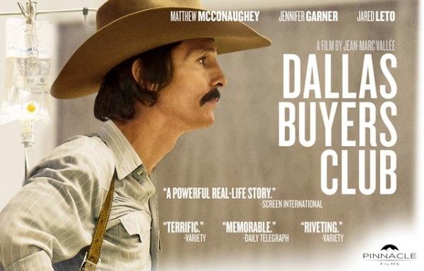 Los 10 mejores estrenos de películas en 2014 en España Dallas Buyers Club