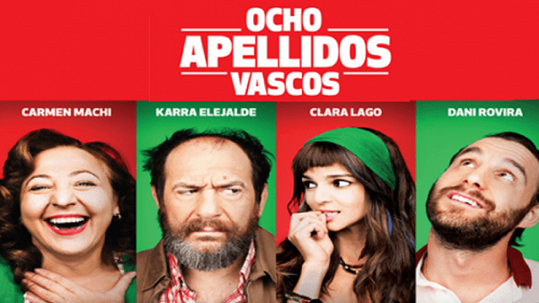 Los 10 mejores estrenos de películas en 2014 en España Ocho apellidos vascos