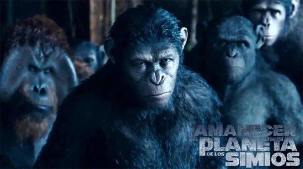 Los 10 mejores estrenos de películas en 2014 en España planeta simios