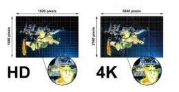 Ver películas en HD vs películas en 4K: diferencias y consejos