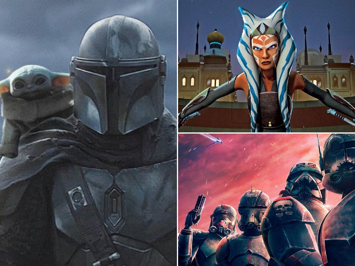 Las nuevas series de Star Wars para 2021 en Disney Plus portada