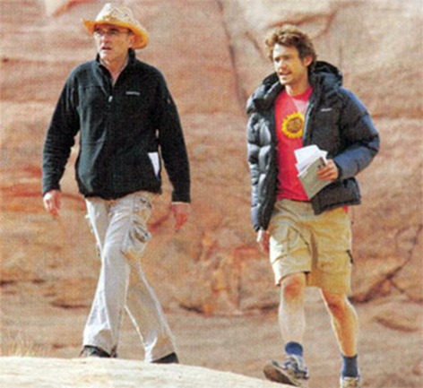 James Franco and Danny Boyle - 127 Hours Movie
